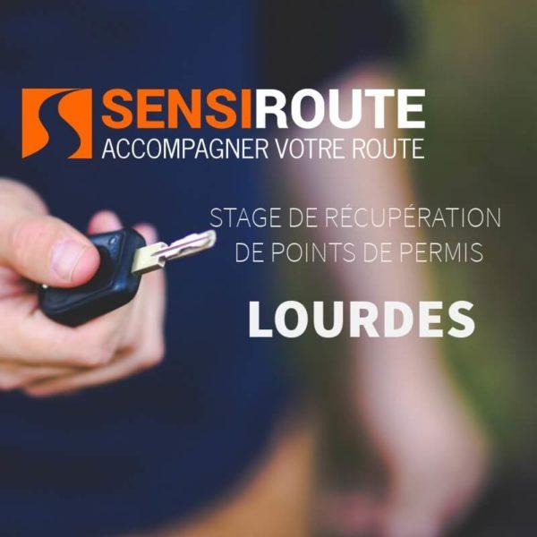Stage agréé de récupération de points de permis à Lourdes avec Sensiroute