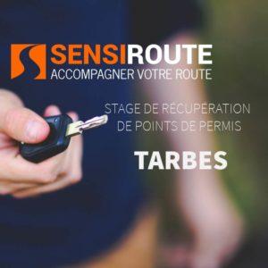 Stage agréé de récupération de points de permis à Tarbes avec Sensiroute