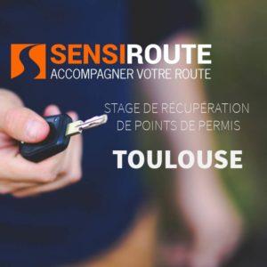 Stage agréé de récupération de points de permis à Toulouse avec Sensiroute