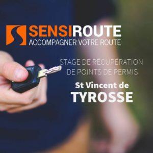 Stage agréé de récupération de points de permis à Tyrosse avec Sensiroute